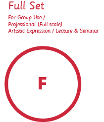 Full Set / For Group Use / Professional (Full-scale) Artistic Expression / Lecture & Seminar